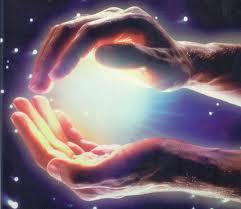 Healing hands.
