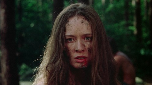 Jennifer after being brutalized