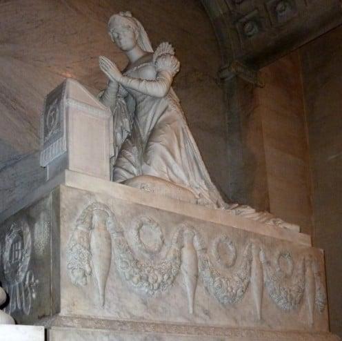 Josephine's tomb.