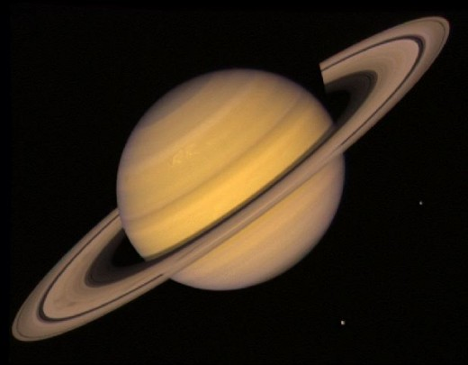 Saturn, the planet not the car.
