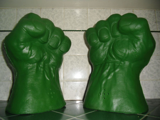 A replica of Green Fist