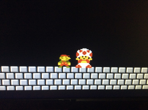 Nothing like beating bowser and rescuing the... Hey who the @$&$ are you.