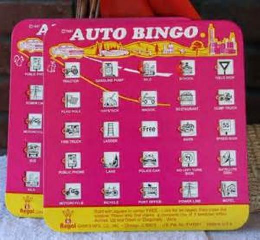 Car Bingo