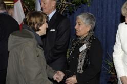 Councillor Frances Nunziata at City Hall, Toronto, in 2011