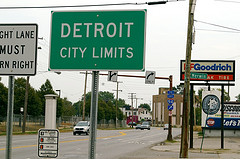 Welcome to Detroit   photo credit hollylooyah @ flickr.com