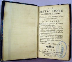 Le Metallique Transformation by Nicholas Flamel