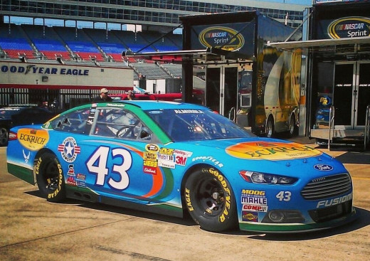 Almirola carried the iconic #43 to a third place finish this past week. Can he do even more this season?