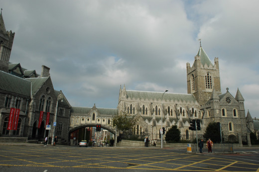 Christchurch cathedral and Dublinia Medieval tour. Photograph found on Dublin Ireland travel pictures