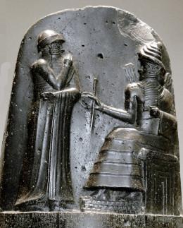 Hammurabi was among the first to codify laws regulating interpersonal violence