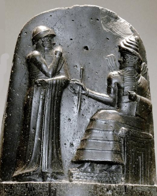 Hammurabi was among the first to codify laws regulating interpersonal violence