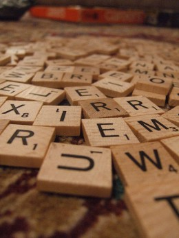 Scrabble is an excellent game to play with a group of friends or if you've got older teens who can handle sitting still long enough to compete.