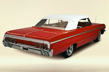 I can see myself even now in this customized, apple red convertible '64 Chevy.