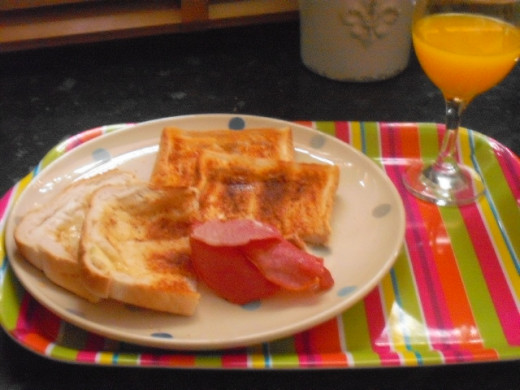 Breakfast doesn't need to be fancy, mum will appreciate anything the little ones have helped to make.