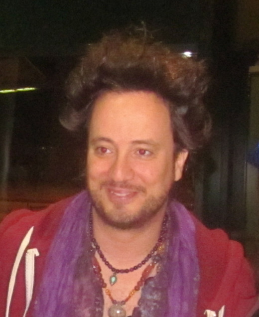 Leading Ancient Astronaut theorist, Giorgio A. Tsoukalos, often featured on Ancient Aliens on the History Channel.