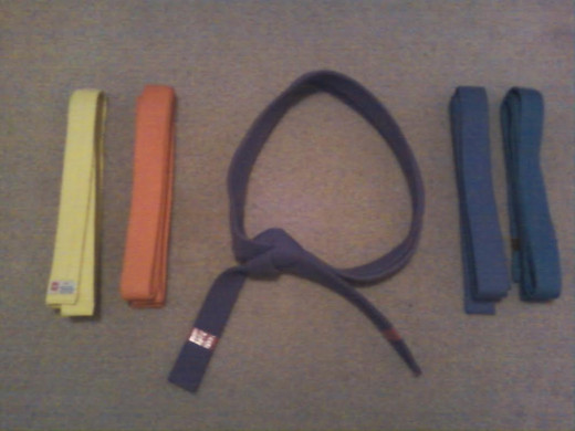Belts are typically a way of identifying a practitioner's level of experience within a given martial art.