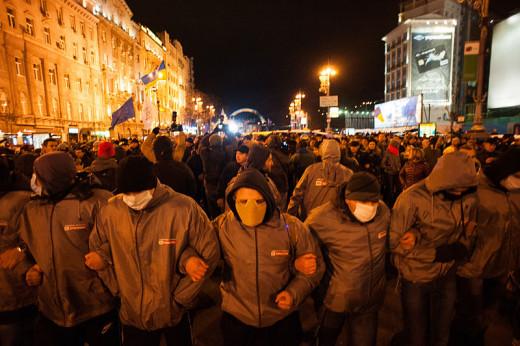 Anti-government protests in November 2013