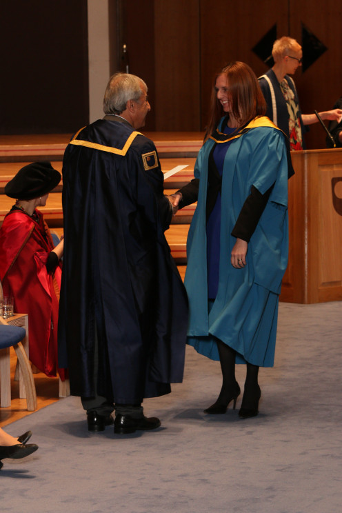 My own graduation from the Open University