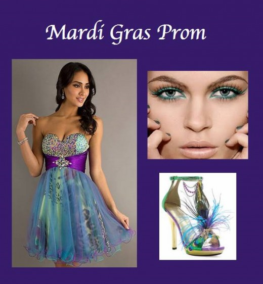 Mardi Gras Themed Prom Ideas 2014