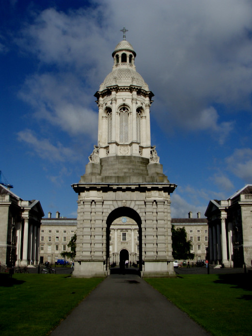 Trinity College, Dublin.  This author was lucky enough to study Irish literature within its walls.