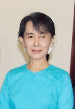 Imprisoned Leader: Aung San Suu Kyi