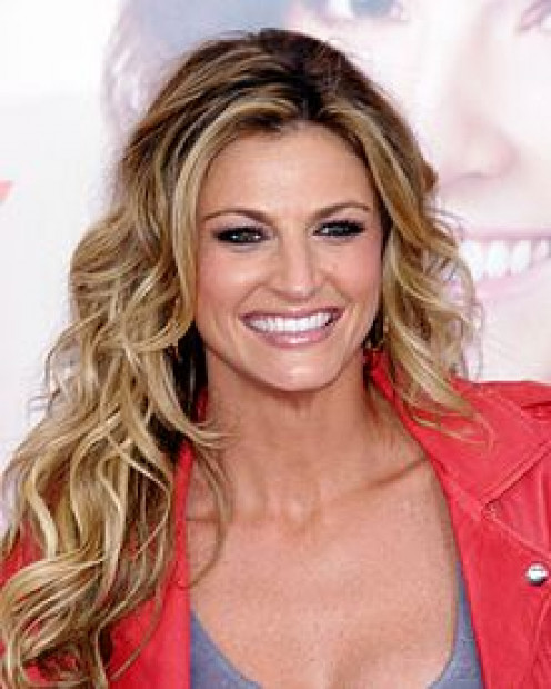 Erin Andrews always smiling