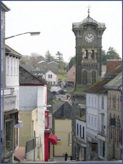 This quaint village of Liskeard is where we attended the hearing.