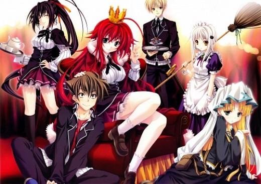Anime like highschool dxd