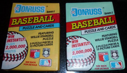 1991 Donruss - right in the middle of this very overproduced era of cards