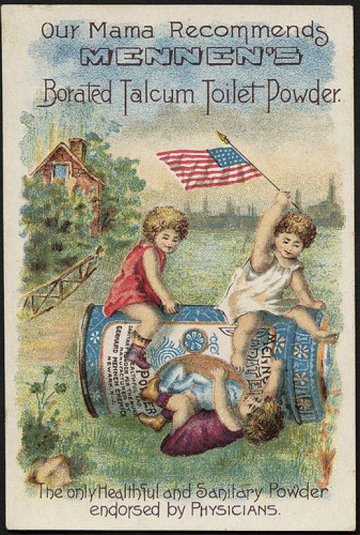 Talcum powder is not safe.
