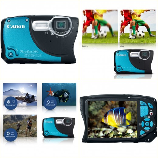 Canon PowerShot Waterproof Digital Camera Review