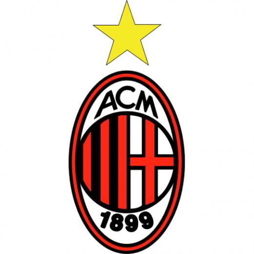 A.C. Milan logo.