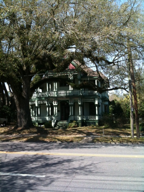 This Queen Anne was built in 1897 during the last yellow fever epidemic in Mobile.