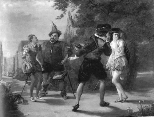 "The Duel Scene from ""Twelfth Night"" by William Shakespeare"