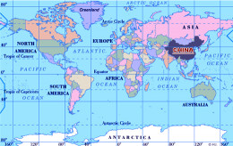 Maddox, this is where China is located.