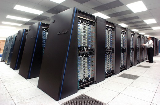 A range of supercomputers developed by IBM