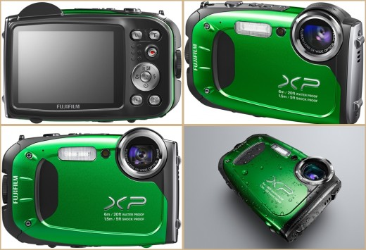 Fujifilm FinePix XP60 16.4MP Best Waterproof Digital Camera