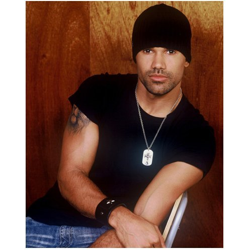 Shemar Moore 8x10 Photo Criminal Minds Charmed cap on