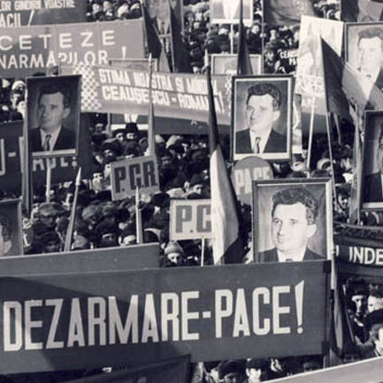 Ceausescu idolized himself