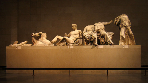Pediment Sculpture from Elgin Marbles