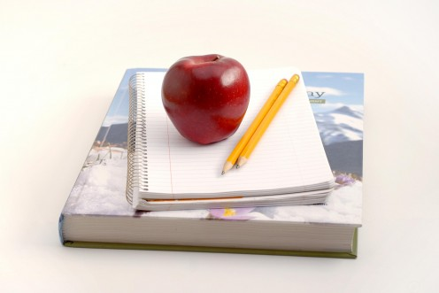 An apple for the teacher!
