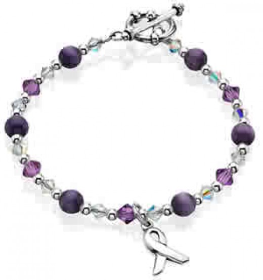 Bracelet for Domestic Violence Awareness
