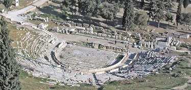 Theater of Dionysus Today
