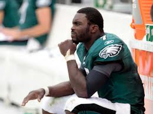 Vick Benched