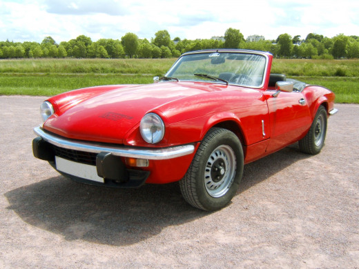 One of my brother's first cars was a Triumph Spitfire, which he would drive at great speed down the motorway!