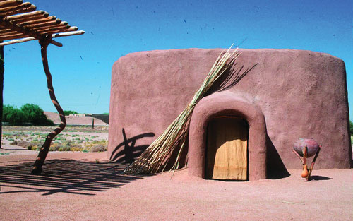 At the Pueblo Grande Museum and Archaeological Park, you can actually walk through a Hohokam Indian ruin and explore the archaeological site's interpretive trail. Inside the museum, study reconstructed homes at the Hohokam Houses exhibit and view a r