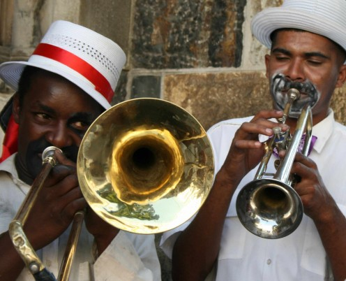 Carnival musicians