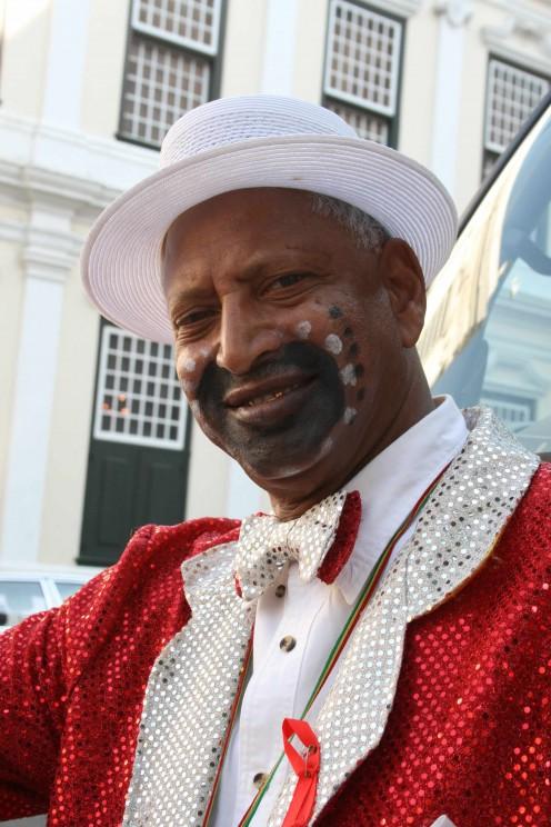 Mr Habib, carnival troupe leader