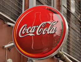 """""""Coca-Cola"""" sign, Belfast"""