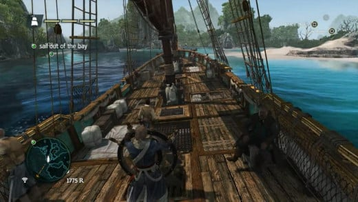 Thanks to a decent fast travel system sailing is enjoyable but never gets tedious as the game progresses.