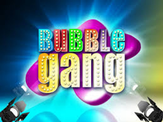 Title Card of Bubble Gang airing from 1995 until present.